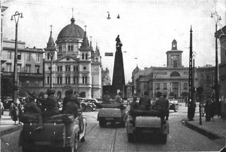 Armia hitlerowska wkroczyła do Łodzi 9 września 1939 roku.