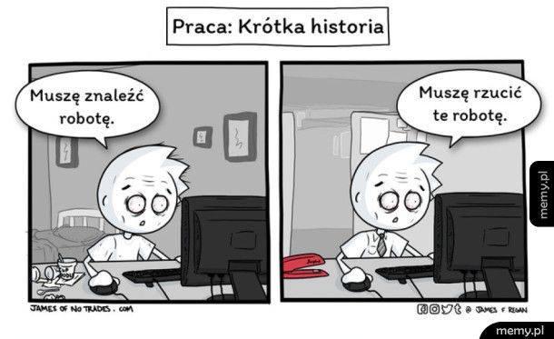 Memy O Pracy śmieszne Obrazki I Memy Na Temat Pracy I