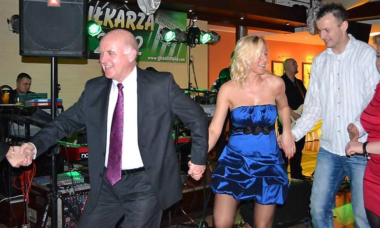 Pociąg taneczny wciągnął też prezydenta Roberta Malinowskiego