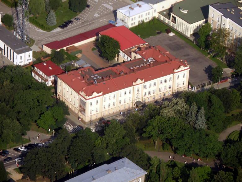 Na zdjęciu budynek Wydziału Prawa UwB.
