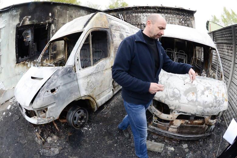 Podpalenie w firmie MK Bako w Zielonej Górze