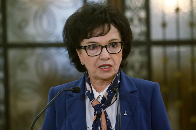 Koronawirus: Marszałek Elżbieta Witek przedstawiła propozycje zmian w regulaminie Sejmu