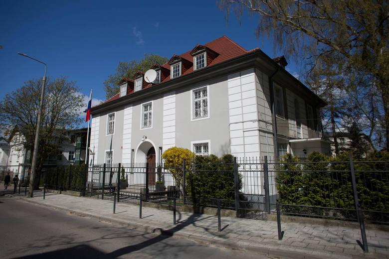 Budynek Konsulatu Federacji Rosyjskiej w Gdańsku