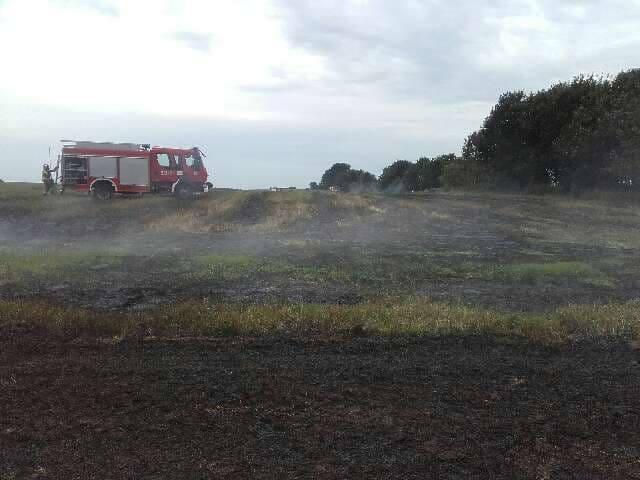 O pożarze ścierniska w Smardzewie (gmina Sławno) poinformowani zostali strażacy ze Sławna. - W akcji gaśniczej brały udział trzy zastępy wozów strażackich.