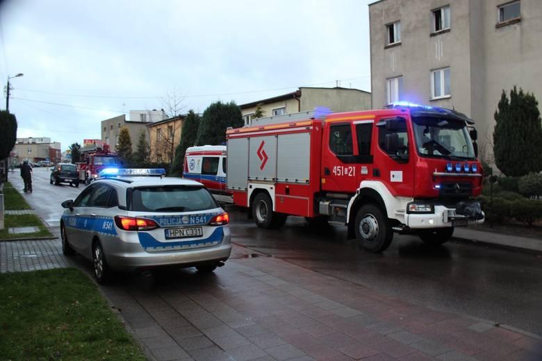 Dramat w Kościerzynie. 48-letnia kobieta, którą podpalił konkubent, nie żyje. Horror rozegrał się w domu przy ul. Chojnickiej
