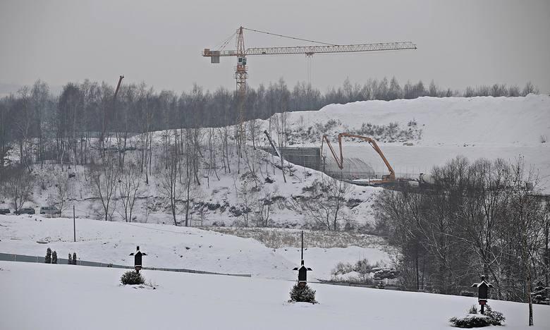 Tatry osypane śniegiem w Krakowie? Brakuje tylko wyciągu