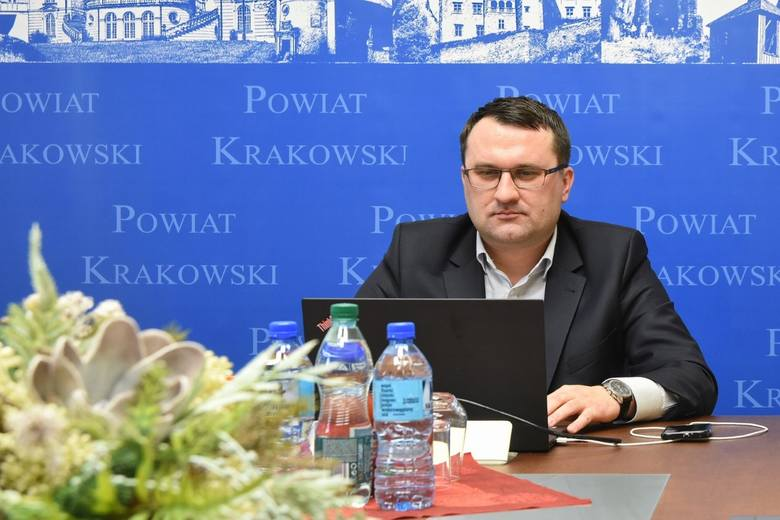 Wojciech Pałka, starosta krakowski podczas pierwszego posiedzenia  Rady Naukowej OPN został wybrany na jej wiceprzewodniczącego