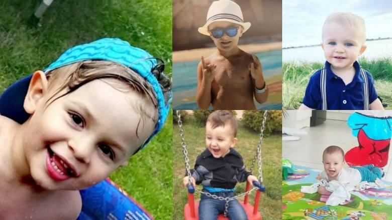 Oto urocze buźki chłopców, laureatów akcji Uśmiech Dziecka w naszym regionie.