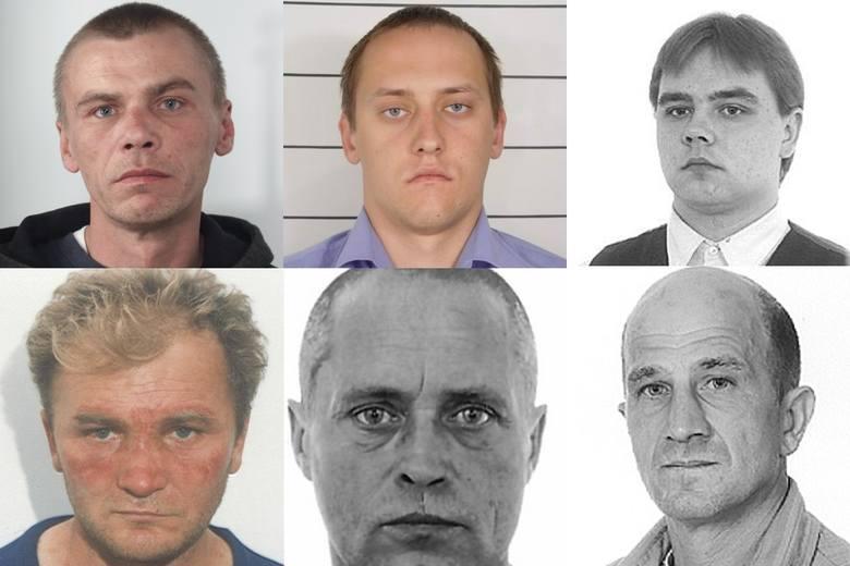 Ci groźny przestępcy wciąż pozostają bezkarni. Podlaska policja poszukuje ich za gwałty, publiczne obnażanie się czy zmuszanie przemocą do uprawiania