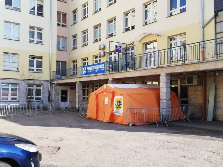 Koronawirus w szpitalu w Tomaszowie. Z najnowszych danych przekazanych w środę przez inspekcję sanitarną w Tomaszowie wynika, że w sumie do środy, 3
