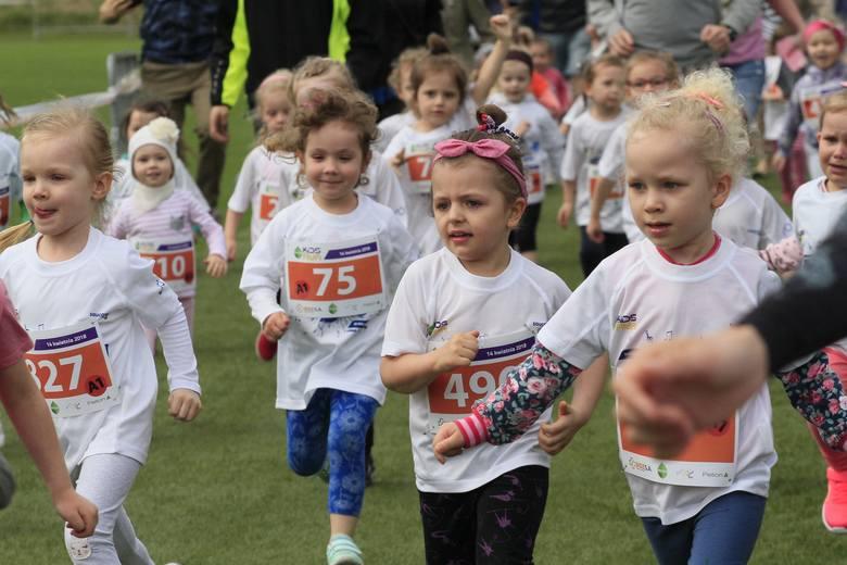 DOZ Maraton Łódź 2018. Dzieci w biegu Kids Run [ZDJĘCIA]
