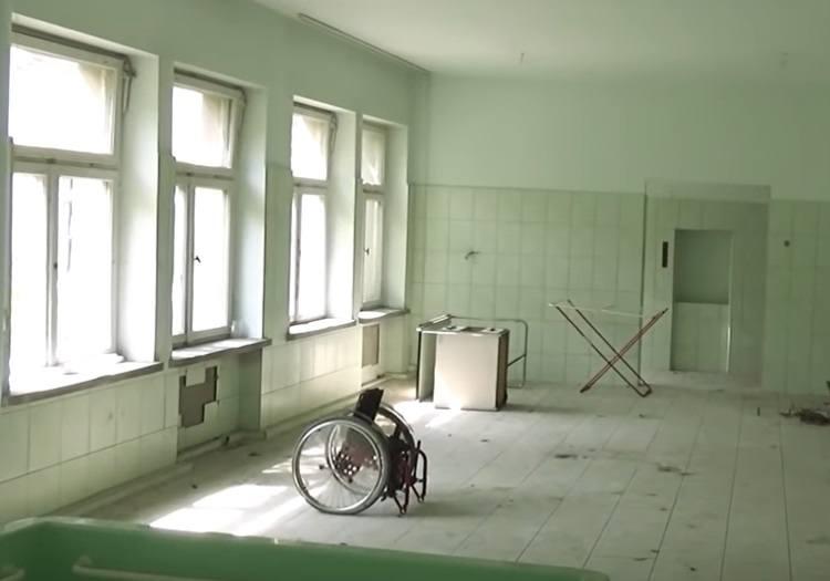 Opuszczony szpital dziecięcy