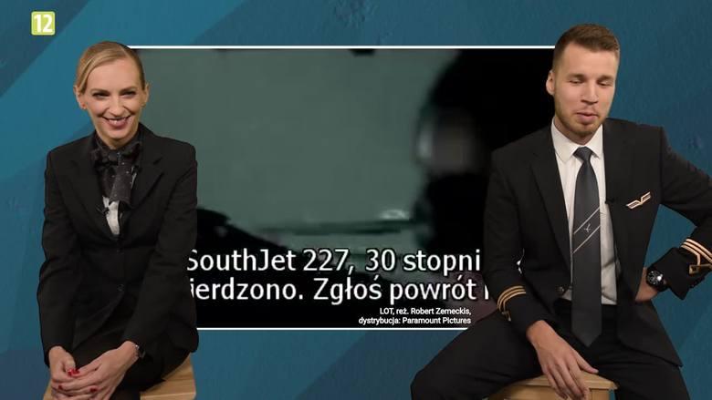 """""""Bez Ściemy"""" odcinek 5. Pilot i stewardessa oceniają filmy lotnicze!"""