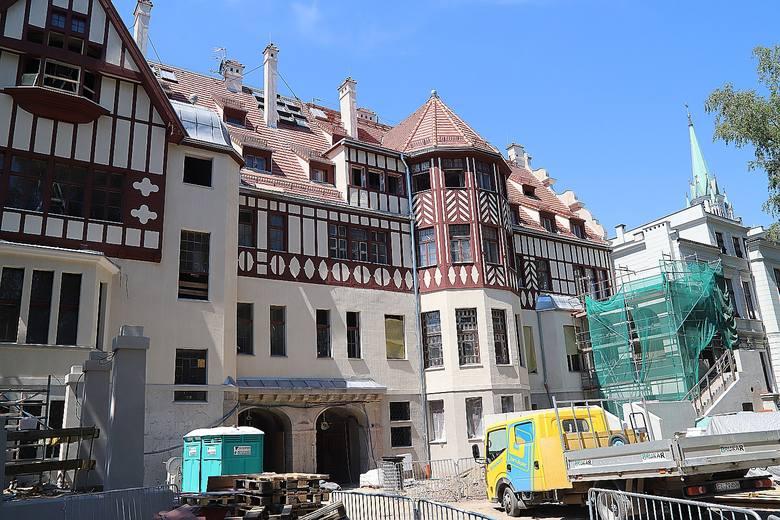 Remont pałacu Steinertów ma trwać do końca roku, a od przyszłego będzie można go zwiedzać. ZOBACZ FOTORELACJĘ >>>>
