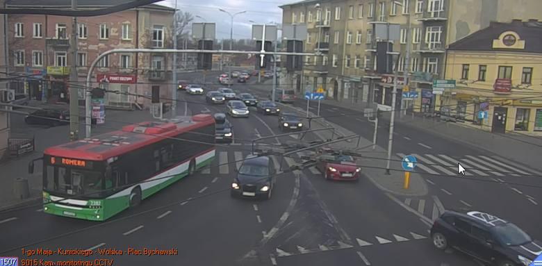 Uwaga, kierowcy. Zmiany na pl. Bychawskim w Lublinie. Chodzi o światła