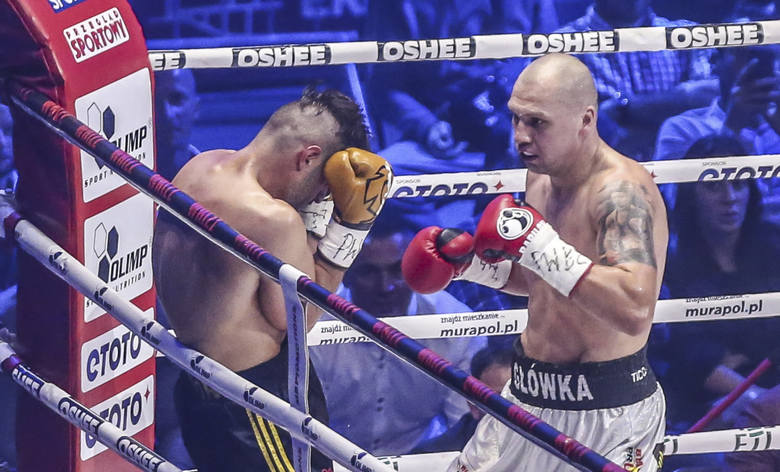 24.06.2017 gdansk,  hala ergo arena, polsta boxing night 7 - nowe rozdanie nz. krzysztof glowacki  - hizni altunkaya  fot. karolina misztal / polska
