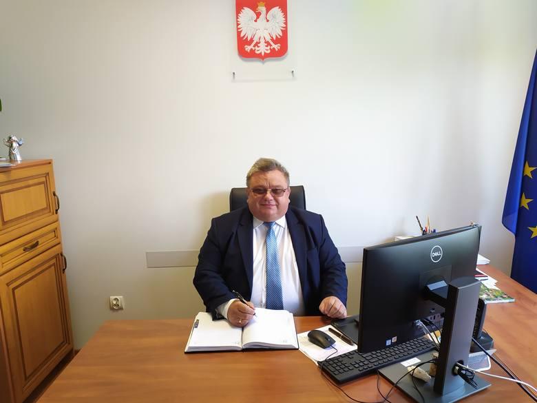 Artur Siwiorek, wójt Mirowa