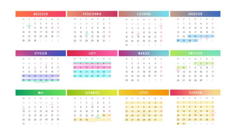 Kalendarz roku szkolnego 2020/2021 TERMINY wakacji, świąt, dni wolne w szkole. Nowy kalendarz szkolny
