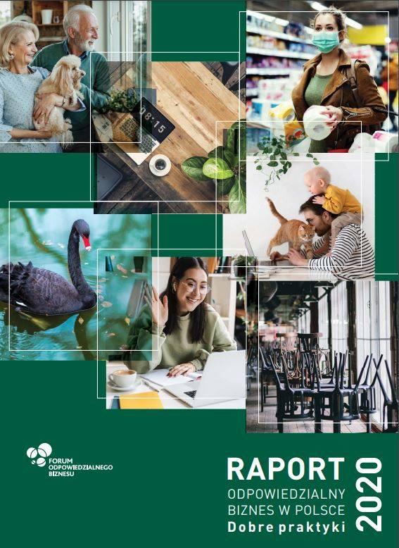 """Raport """"Odpowiedzialny biznes w Polsce 2020. Dobre praktyki"""" został przygotowany przez ekspertów Forum Odpowiedzialnego Biznesu"""