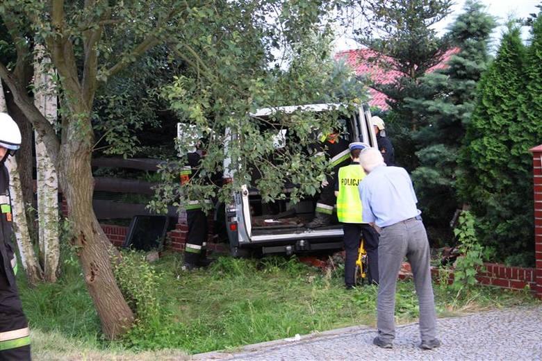 Pięć osób zostało poszkodowanych w wypadku busa w Brynicy.
