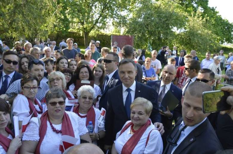 Andrzej Duda z wizytą w Sztumie. 7 maja 2018
