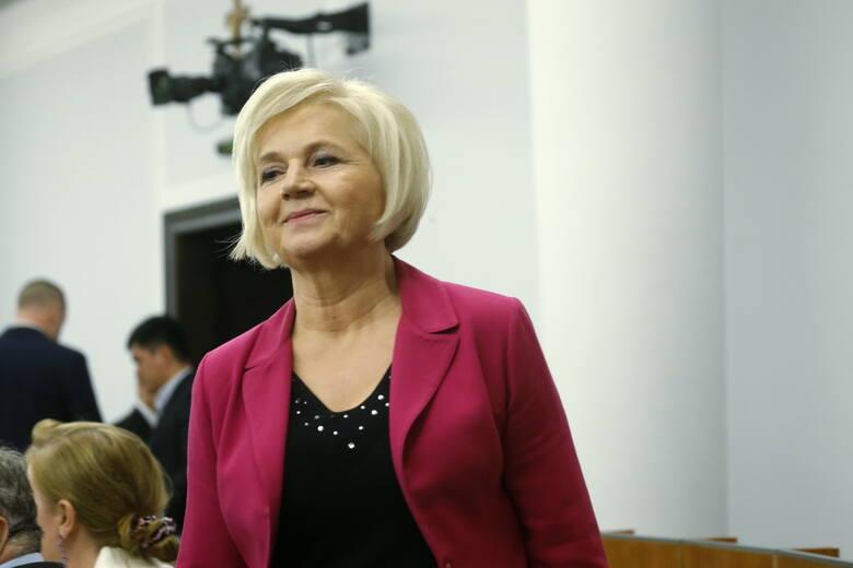 Senator Lidia Staroń, kandydatka PiS na RPO