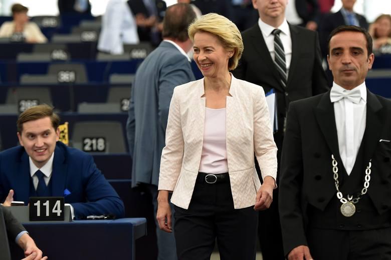 Ursula von der Leyen została wybrana nową szefową Komisji Europejskiej