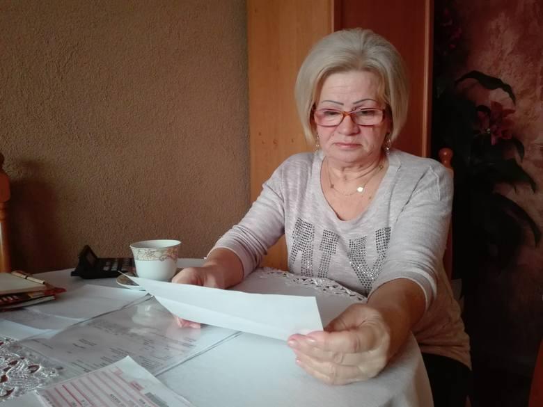 - Patrzę i nie mogę uwierzyć, że ktoś bez zastanowienia wysłał taki rachunek - mówi Janina Nowak