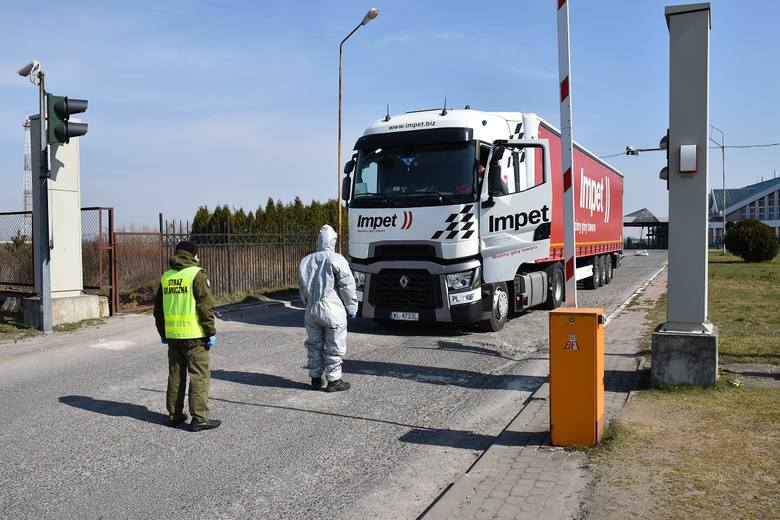 Tymczasowe zamknięcie od 15 marca większości przejść granicznych na granicy zewnętrznej UE w żadnym stopniu nie zwolniło polskiej Straży Granicznej z