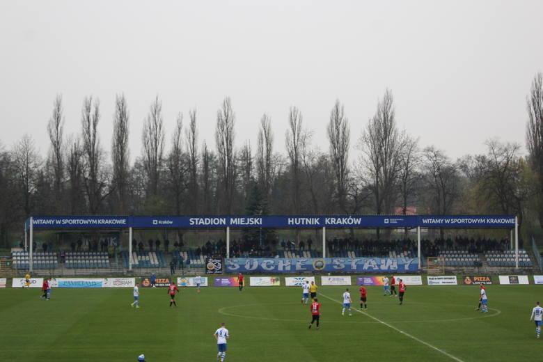 Hutnik Kraków - Stal Kraśnik. Zwycięstwo utracone w ostatniej akcji meczu [ZDJĘCIA]