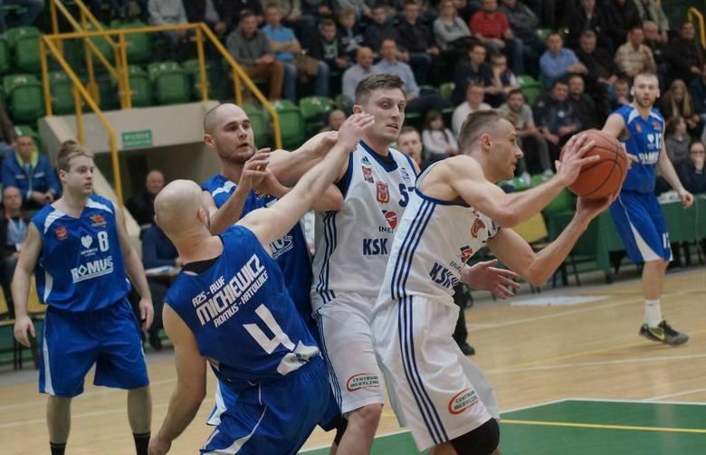 Inowrocławska KSK Noteć zostaje w I lidze. Wygrała z AZS AWF Katowice 84:71