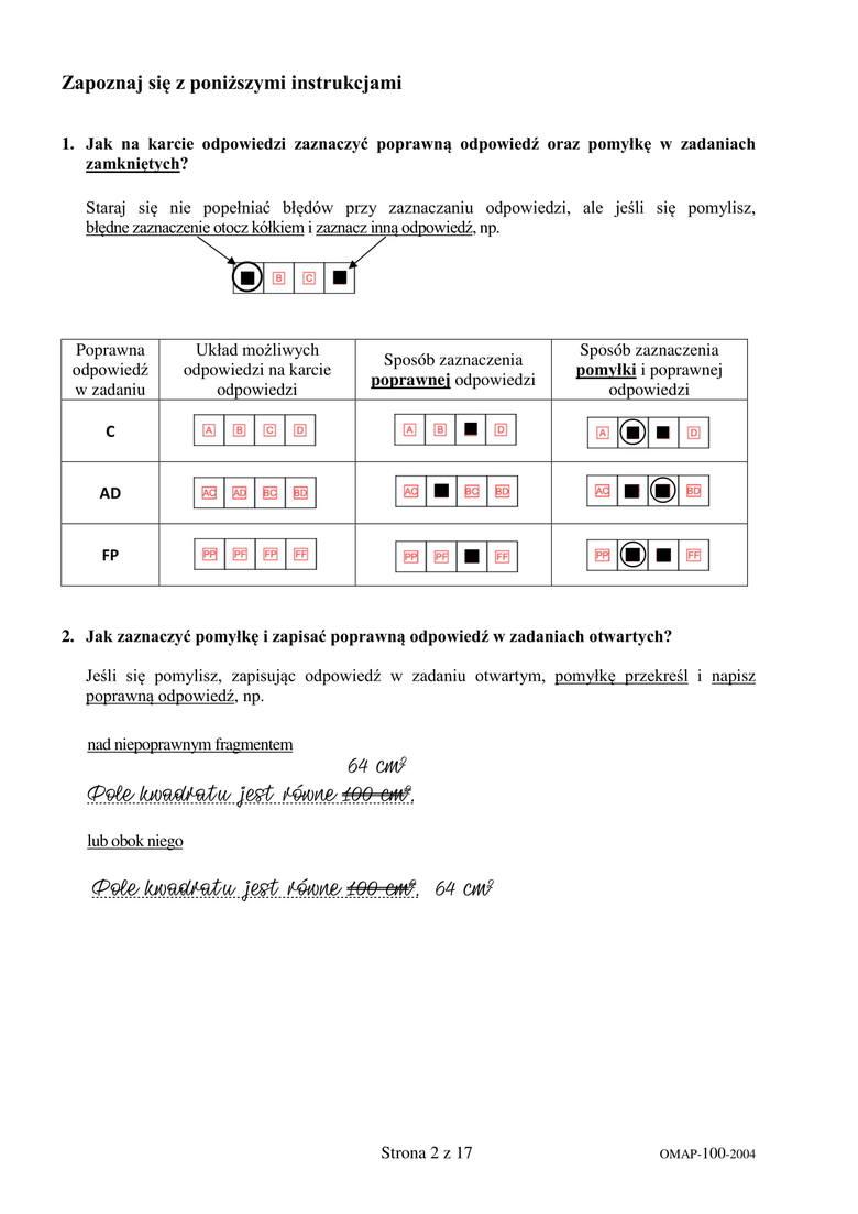 Egzamin ósmoklasisty. Matematyka 2020. Arkusze CKE już na naszej stronie. Sprawdź