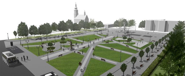 Władze Kietrza przygotowują się do remontu głównego placu w mieście. Mają już gotową koncepcję, teraz pracują nad dokumentacją techniczną.