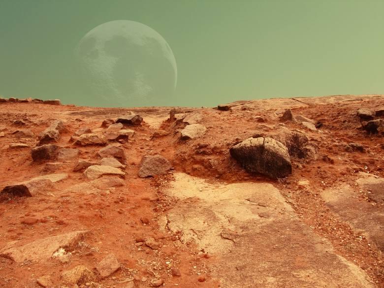 Astronauci, którzy w przyszłości polecą na Marsa będą mieszkali w zamkniętej bazie kosmicznej.
