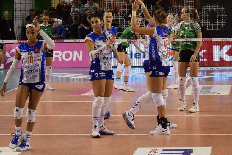 W meczu trzeciej kolejki Tauron Ligi, E.Leclerc Moya Radomka Radom pokonał 3:0 Volley Wrocław. Najlepszą siatkarką meczu została Justyna Łukasik.E. Leclerc