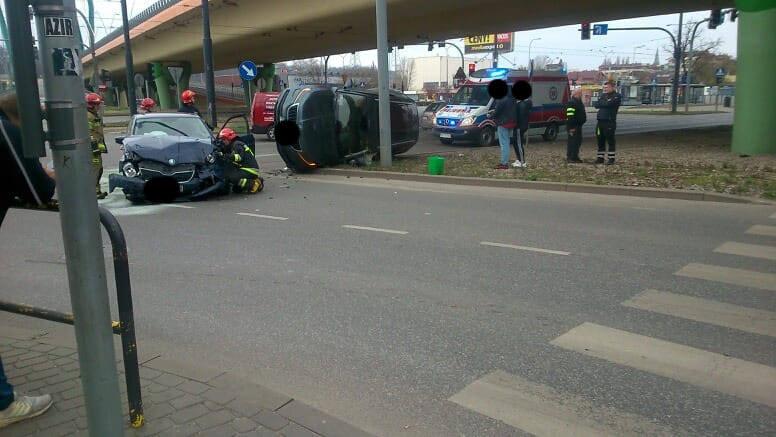 Policja ustali szczegóły wypadku, do jakiego doszło na rogu ul. Jagiellońskiej i Ogińskiego