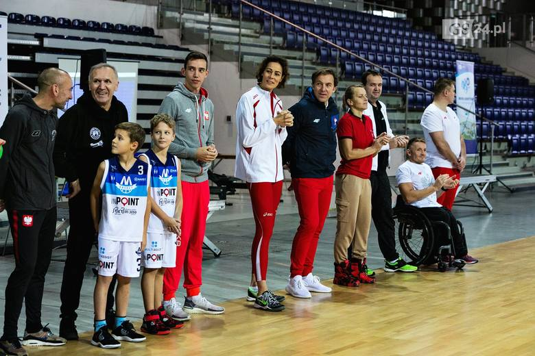 Dzień z olimpijczykami w Netto Arenie w Szczecinie