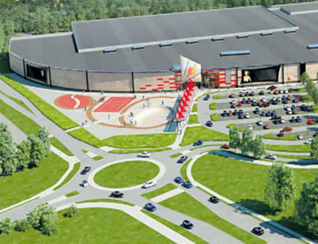 Plany były ambitne i zakrojone na szeroką skalę. W zachodnim Toruniu, u wylotu miasta na Bydgoszcz, miało powstać wielkie centrum handlowe (na miejscu