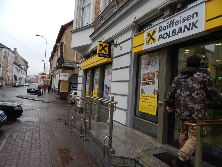 Banki w centrum Gorzowa