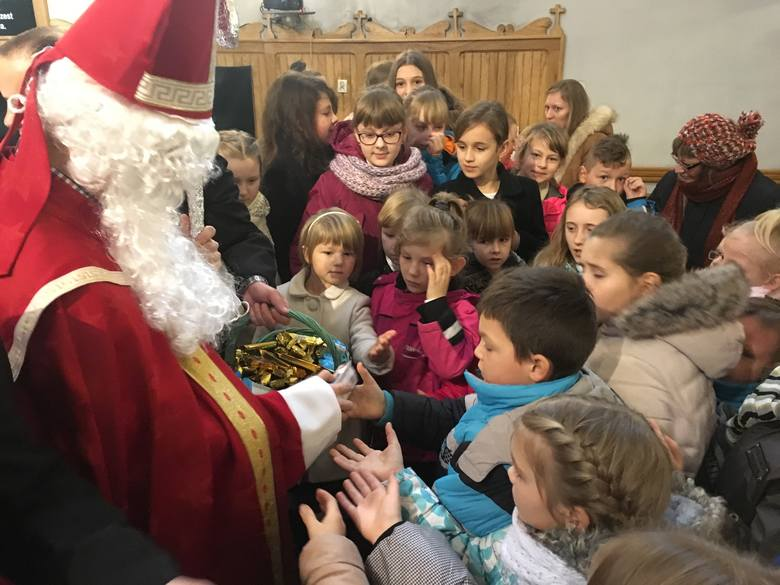 Święty Mikołaj w ostrołęckiej farze [ZDJĘCIA]