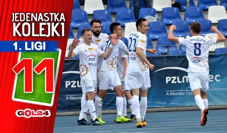 Faworyci poskromieni. Jedenastka 27. kolejki Fortuna 1 Ligi według GOL24!