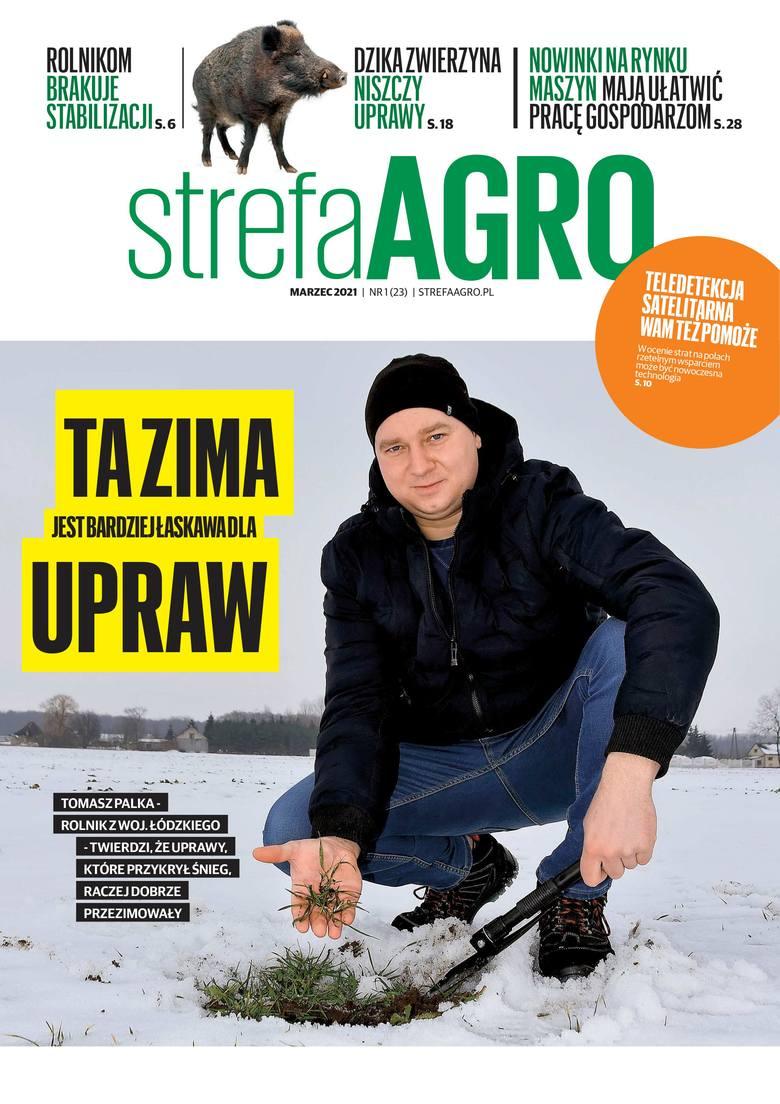 Bezpłatny magazyn Strefa Agro marzec 2021. Gdzie można dostać? [lista punktów]