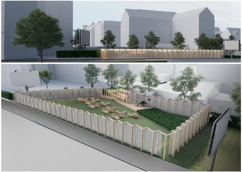 Projekt jest, czekamy na plan finansowania. Łąka Kany w Szczecinie może się zmienić [WIZUALIZACJE]