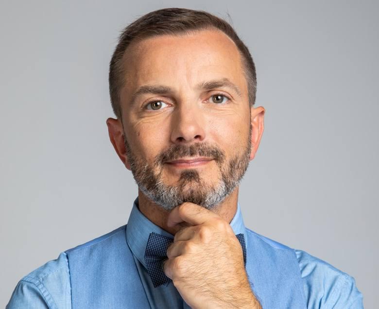 """Dr Tomasz Rożek - fizyk, dziennikarz naukowy, autor bloga """"Nauka. To lubię""""."""