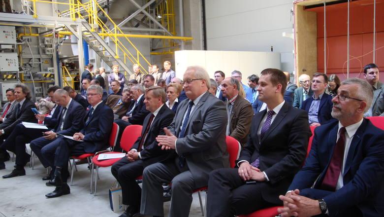 Dabrowa Górnicza: Otwarcie laboratorium Polskiego Klastra Aluminium z piecem do badań ogniowych