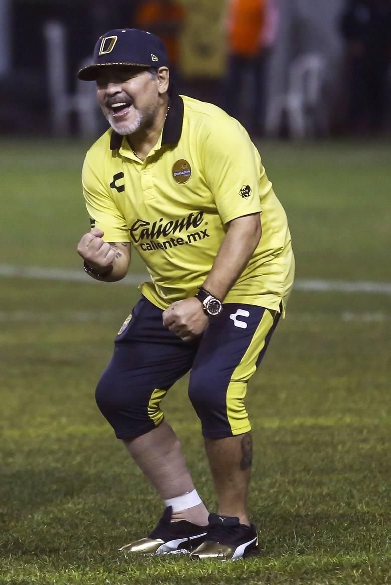 Diego Maradona wciąż nie chce odpuścić