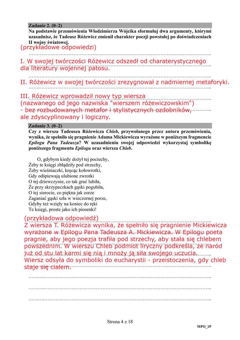 temat polski matura 2021