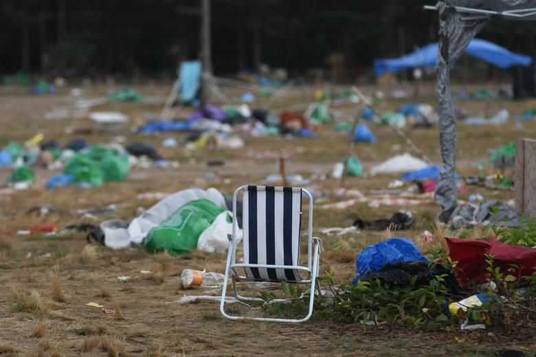 400 ton śmieci zbierano w poprzednich latach z terenu Pol'and'Rock Festiwalu 2019. W tym roku wielkie sprzątania zaczęło się już w trakcie trwania imprezy