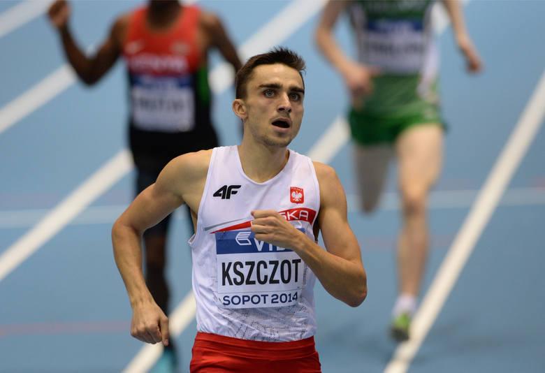 Adam Kszczot (bieg na 800m) - to już uznana marka na całym świecie. Kszczot zdobywał dla Polski wiele medali na dużych imprezach. W ubiegłym roku został