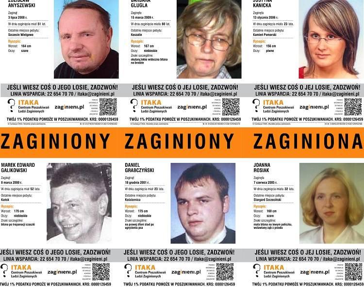 Prezentujemy zdjęcia oraz opisy zaginionych osób w naszym województwie. Może macie o kimś informacje?Zobacz także: Koszalin: Policjanci rozdają odblaski